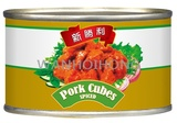 新勝利牌 五香肉丁 NEW VICTORY SPICED PORK CUBES V007