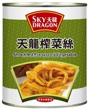 天龍牌 辣味榨菜絲 SKY DRAGON SHREDDED PRESERVED VEGETABLE